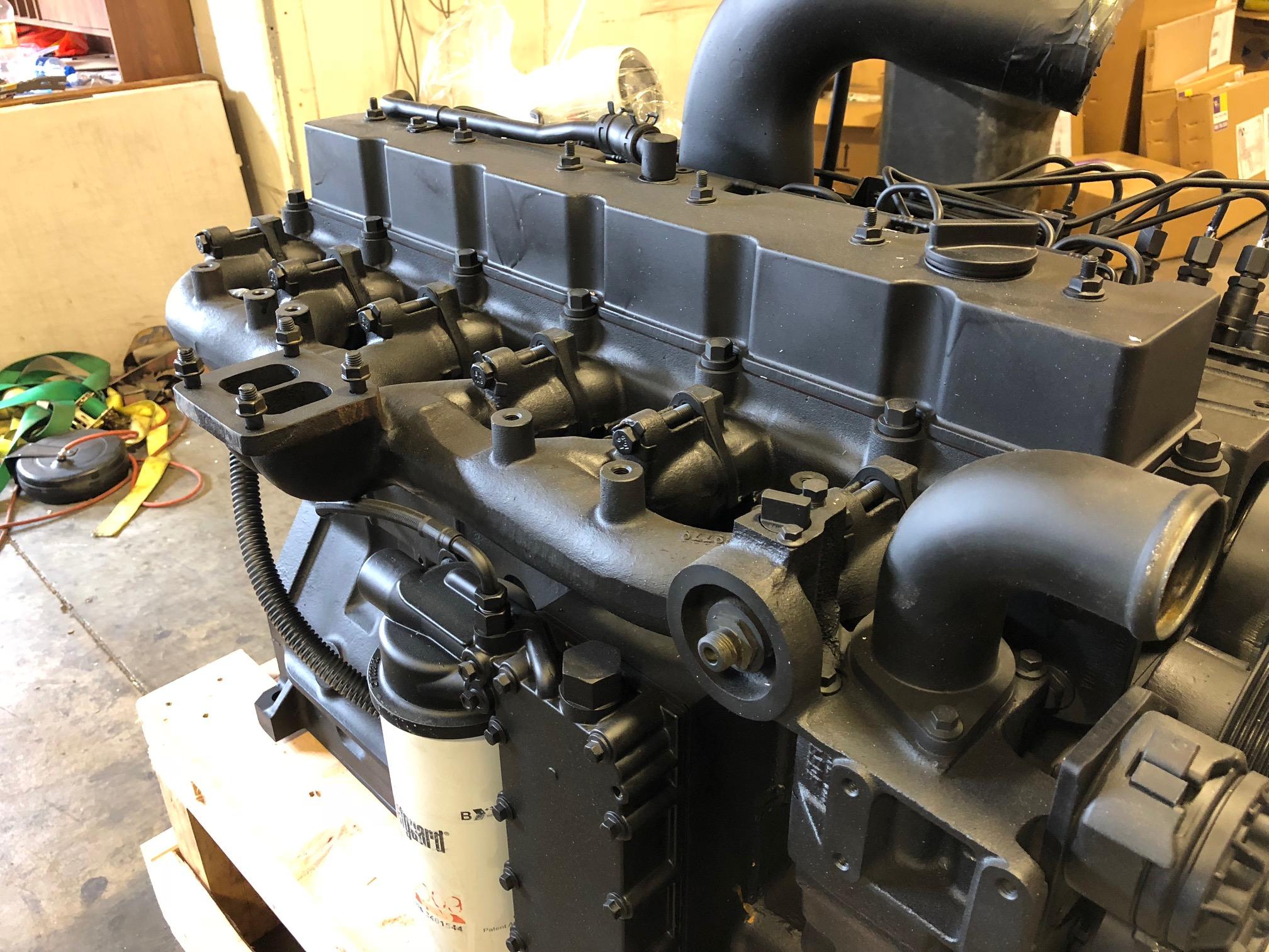 cummins engine 6ct diesel thermostat complete 260hp engines hp