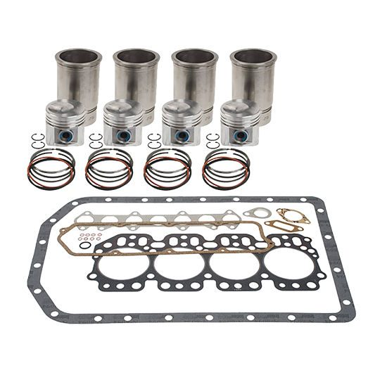 Cummins 6B, 6BT, 6BTA, 5.9L Inframe Kit - Piston Marked 2687 (10.5:1 Compression, Natural Gas Piston Marked 0503)