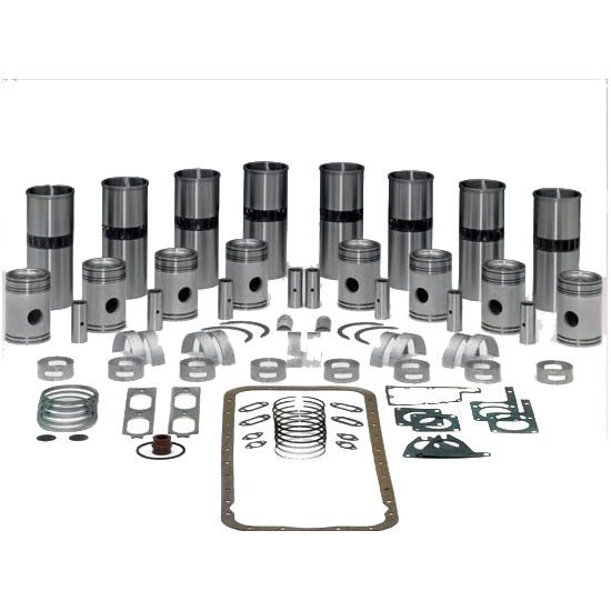 Cummins 6BT 5.9L Inframe Kit w/ .50mm Bore & Fractured Rods (Additional Emissions Rated)