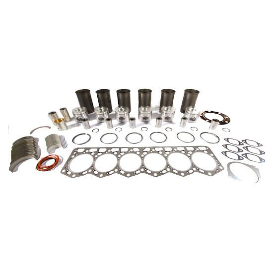 Cummins 6BT 5.9L Inframe Kit w/ .50mm Bore & Fractured Rods (Non Emissions)
