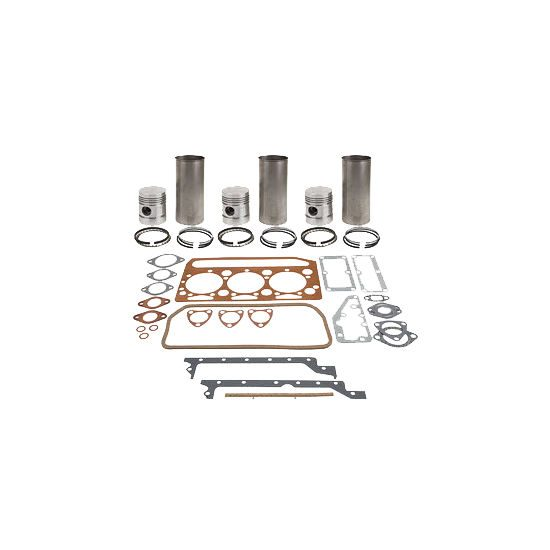 Cummins 6B, 6BT, 6BTA, 5.9L Major Overhaul Kit - Piston Marked 2687 (10.5:1 Compression, Natural Gas Piston Marked 0503)