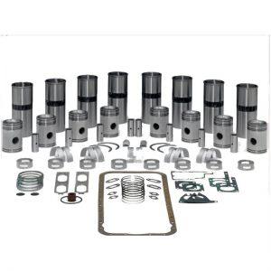 Cummins ISB 5.9L Major Overhaul Kit - Piston Marked 8675, 9843, 9844 (24 Valve 2002- 2007 Model)