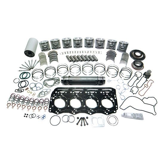 Cummins 6BT 5.9L Overhaul Kit w/ .50mm Bore & Fractured Rods (Additional Emissions Rated)