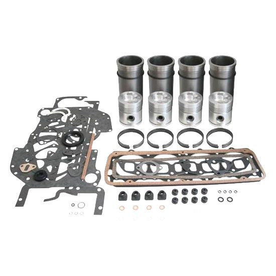 Cummins 6BT 5.9L Overhaul Kit w/ .50mm Bore & Fractured Rods (Non Emissions)