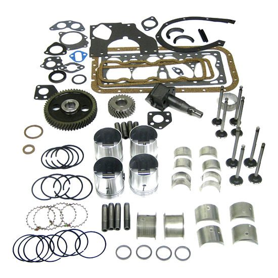 Cummins 4BTA Overhaul Kit w/ .50mm Bore & Fractured Rods (Turbocharged and Aftercooled Non-Emission)