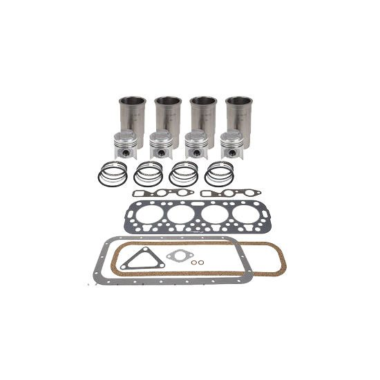Cummins 6BT 5.9L Overhaul Kit w/ .50mm Bore & Machined Rods (Additional Emissions Rated)